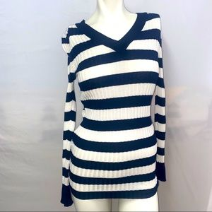 American Eagle long sleeve sweater XS Striped